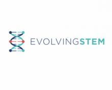Evolving stem logo
