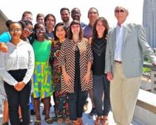 Participants of the LRDC Undergraduate Summer Internship Program